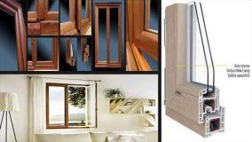 Finestre in PVC e legno