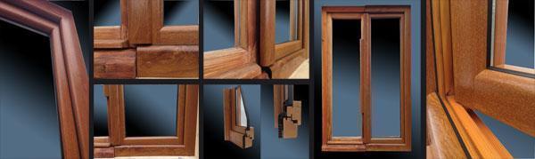 Infissi in PVC e legno di Rigato S.a.s