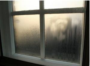 Fenomeni di condensa sui vetri