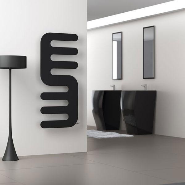 Riscaldamento bagno come scegliere il sistema giusto - Termosifone elettrico a parete ...