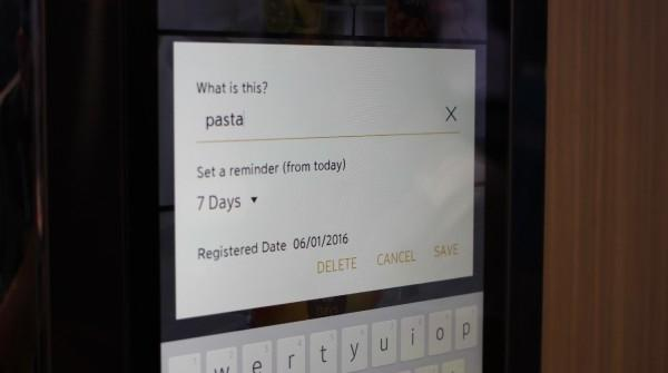 App per controllo frigo Samsung