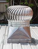 Il terminale di una canna di ventilazione.