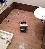 Ristrutturazione del bagno fai da te: istallazione dello zoccolo, di Fabio Mainero
