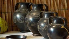 Reperti archeologici come oggetti decorativi