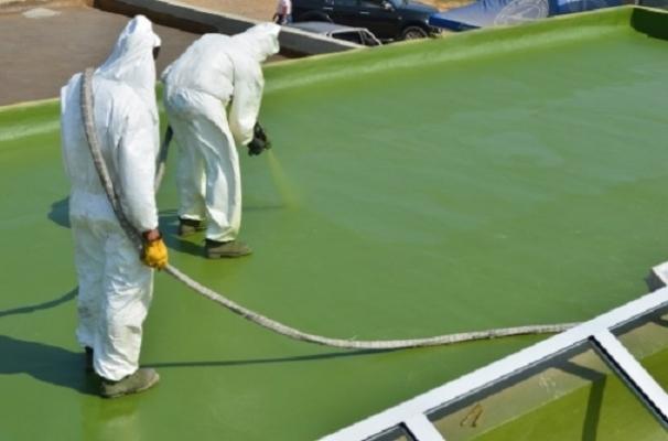 Impermeabilizzare con il poliuretano a spruzzo posa in opera di Intpoliuretani