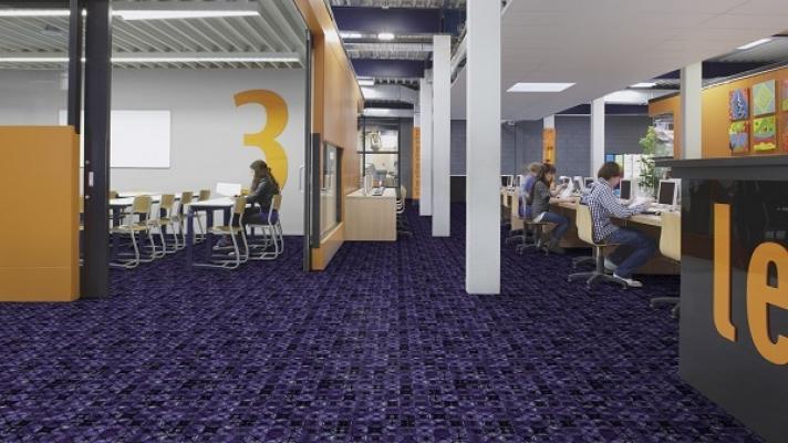 Pavimento personalizzato arte design di  Forbo - Flooring Systems