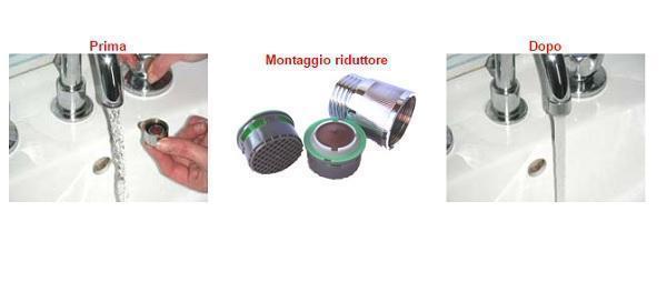 Montaggio riduttori di flusso di Arpa Italia Sas