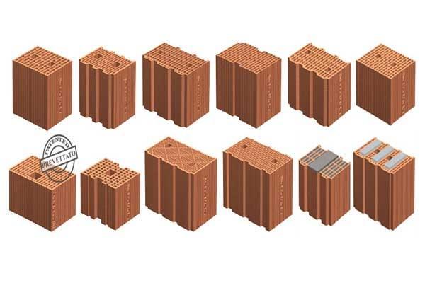 Blocchi di termolaterizio per muri portanti - Forati portanti ...