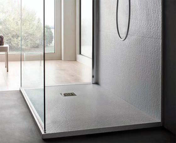 Piatto doccia strutturato, by Stilbagno