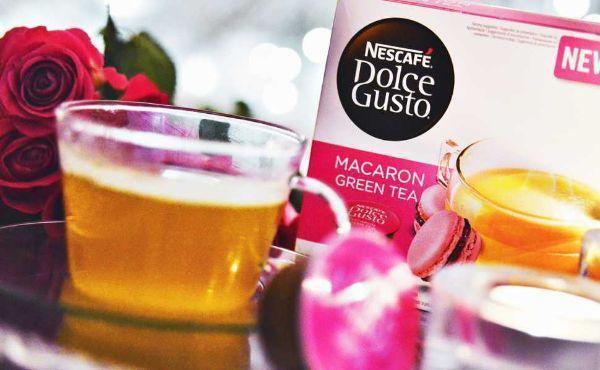 Macaron Green Tea di Nescafé Dolce Gusto