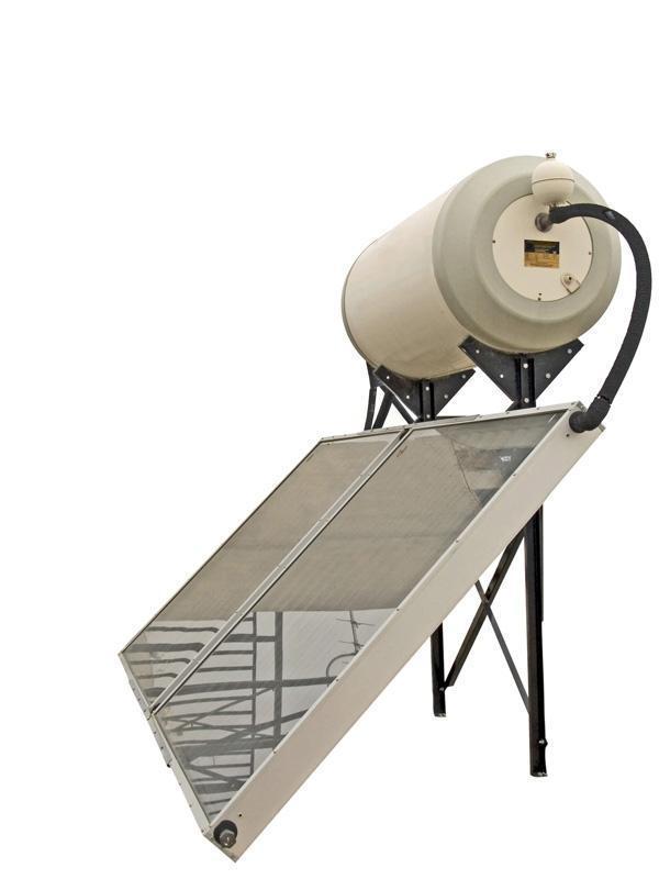 Pannello solare per l'acqua calda piano in vetro