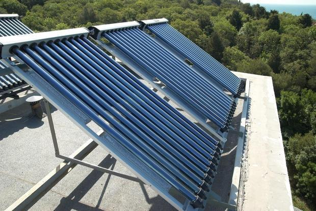 Foto pannello solare per acqua calda for Pannelli solari immagini