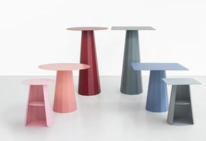 Tavoli Ankara di Materie Grise con colorazioni Pantone