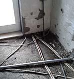 Impianto idraulico deteriorato per cattiva manutenzione