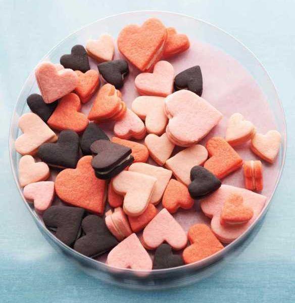 Biscotti di San Valentino ricetta dal sito di Martha Stewart