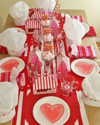 Idee per san valentino ragali decorazioni e dolci - Decorazioni tavola san valentino ...