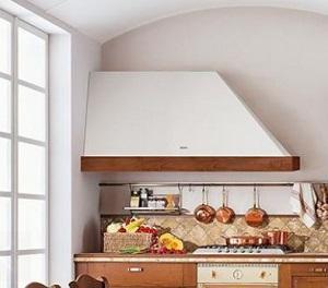 Cucina in muratura - Costruire cappa cucina ...