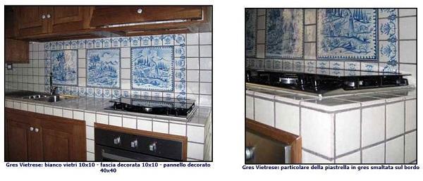 Cucine in muratura: Antica Ceramica