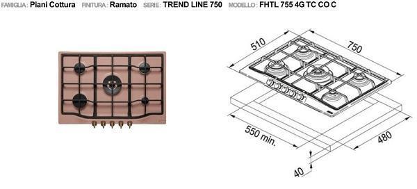 Cucine in muratura: Franke, coll.Trend