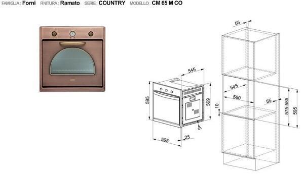 Cucine in muratura: Franke, coll. Country