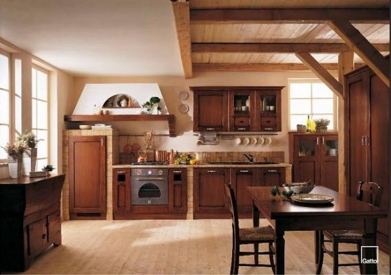 Cucina in muratura - Cucine country in muratura ...