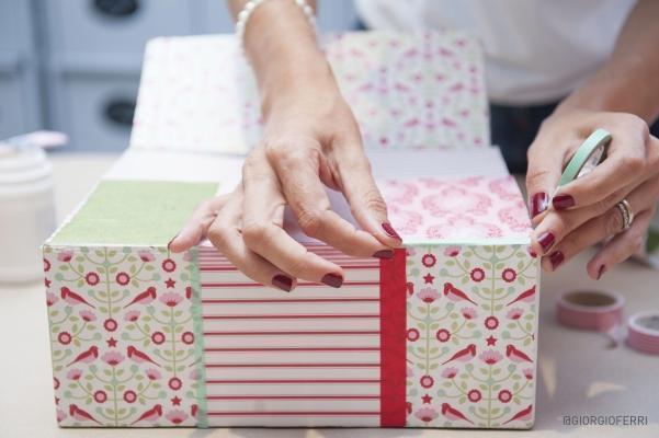 Tutorial per reciclare in maniera creativa scatole di L?Associazione Italiana Scatolifici