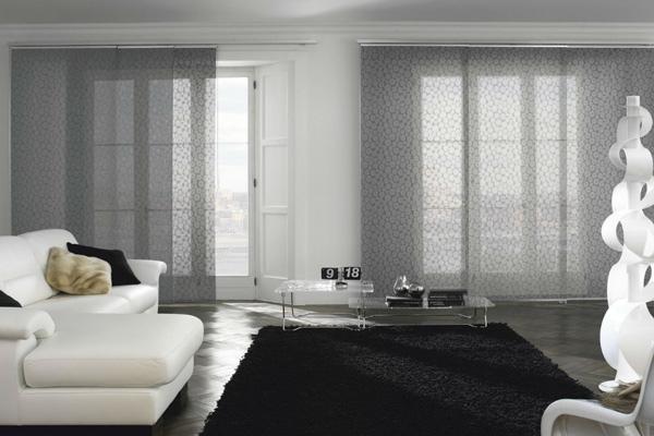 Tende soggiorno come sceglierle for Arredamenti case bellissime