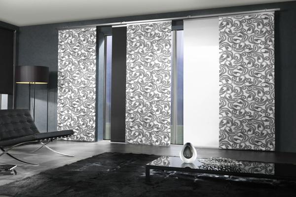 Tende soggiorno come sceglierle for Tende arredamento moderno