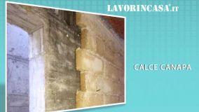 Calce canapa: isolante termoacustico naturale