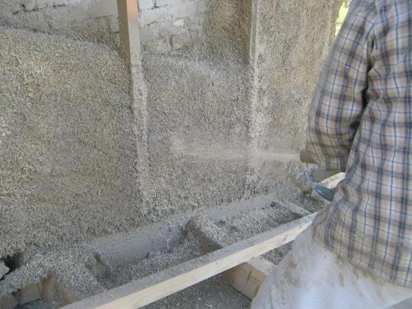 Il cappotto termico a base di calce canapa