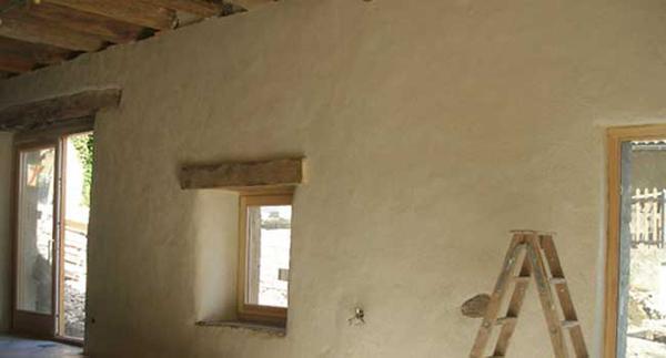 Calce canapa isolante termoacustico naturale - Rasatura muro esterno ...