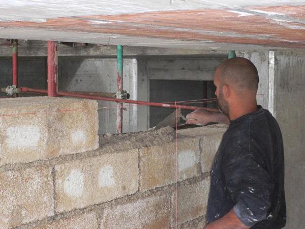 Le pareti di tamponamento in calce canapa