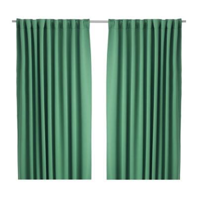 Tenda oscurante Werna verde di Ikea