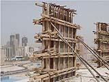 Cassaforma in metallo per paratie in cemento armato. Azienda DB System.