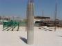 Pilastro in cemento armato con cassaforma Quickjet dell'azienda DB System.