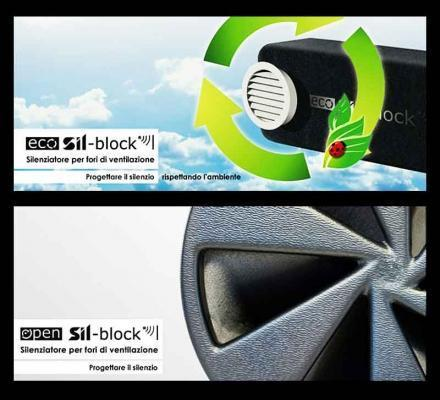 Silenziatori per fori di ventilazione Silte