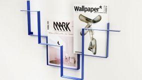 Portariviste da parete: idee di design e riciclo creativo