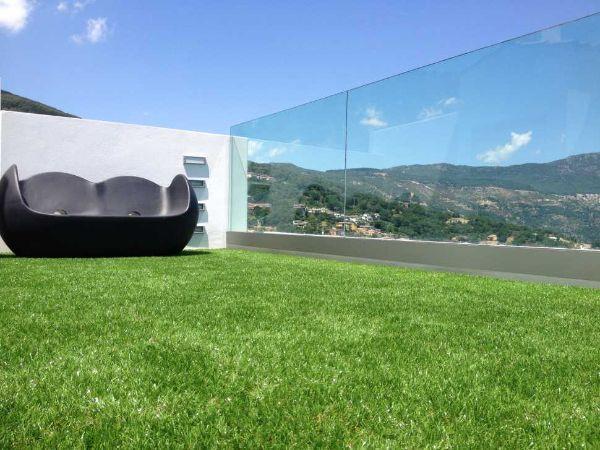 Copertura verde sintetica a moduli Roofingreen