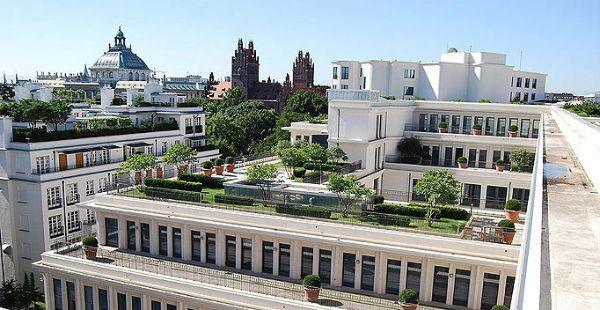 Realizzazione tetto verde for Soluzioni giardini pensili