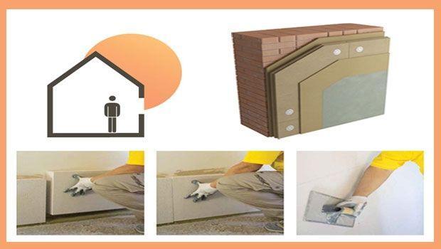 Cappotto interno per l 39 isolamento - Isolamento termico dall interno ...