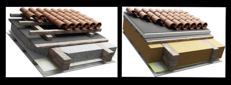 Pannelli isolanti per tetti di Naturalia Bau