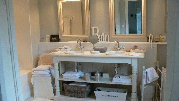 Bagno shabby chic for Salle de bain style shabby
