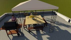 Progettare arredo terrazzo