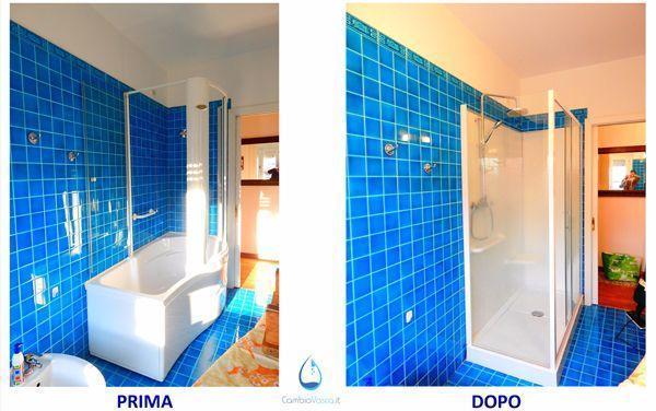 Vasca con doccia, come trasformare il bagno di casa