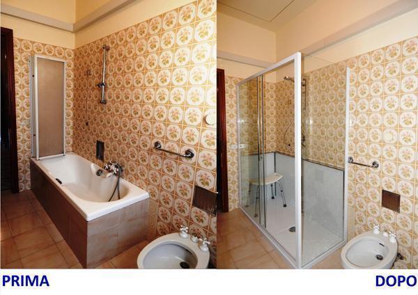 Edilbook ristrutturazioni trasformazione di una vasca da - Da vasca da bagno a doccia ...