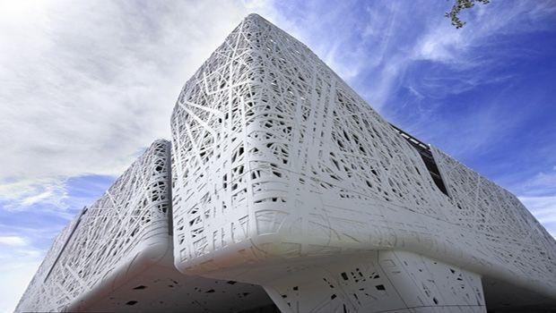 Forme innovative e aria pulita con il cemento biodinamico