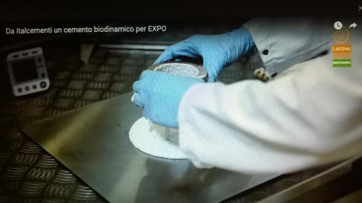 Cemento biodinamico italcementi