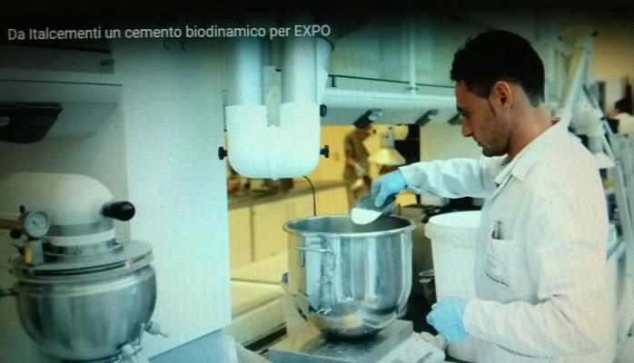 Cemento biodinamico preparazione Italcementi