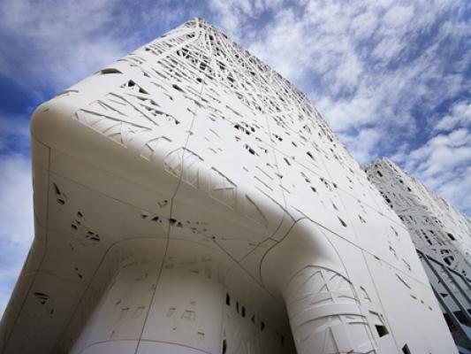 Palazzo Italia cemento biodinamico Italcementi