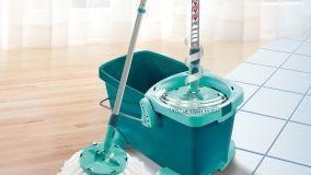 Scopa centrifuga per la pulizia dei pavimenti